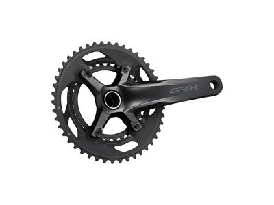 Shimano GRX kranksæt - Dobbelt 46/30 tands - 2 x 10 gear - 170mm pedalarme - FC-RX600