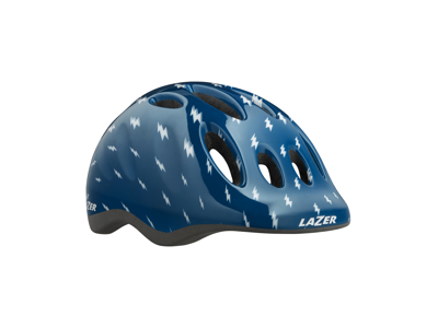 Lazer Max+ - Cykelhjelm Barn - Str. 49-56 cm - Blå flash