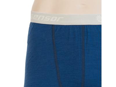 Sensor Merino Air Pants - Ullunderbyxor med långa ben - Män - Blå