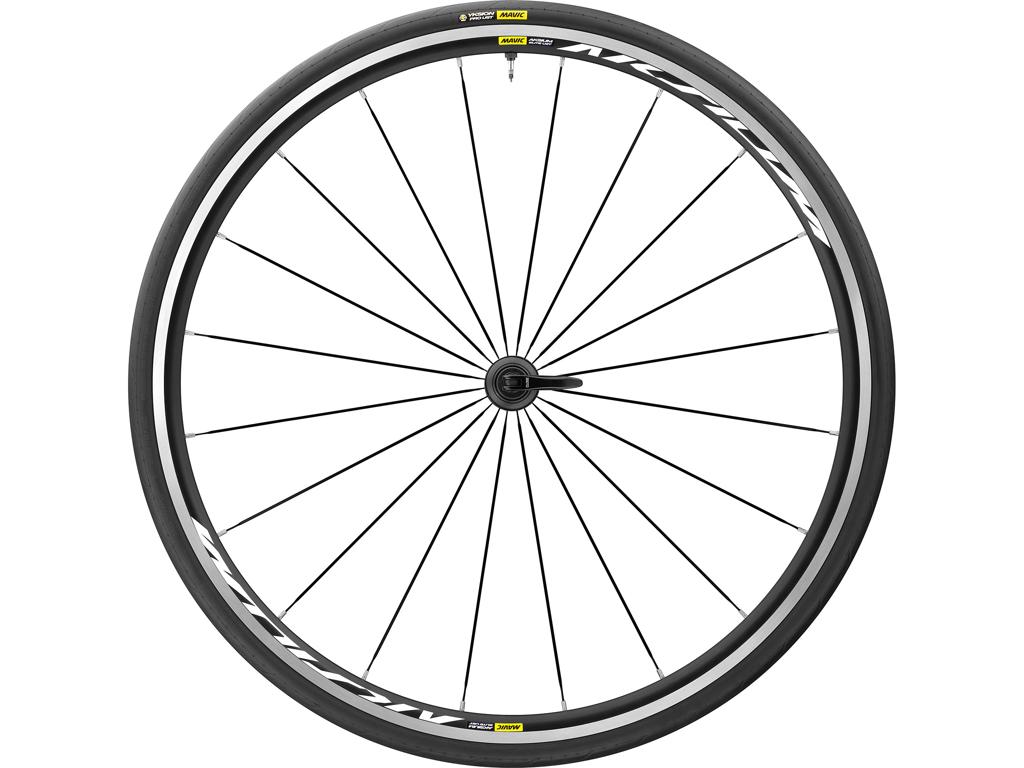 Mavic Aksium Elite UST - Tubeless Forhjul inkl. dæk - 700x25c