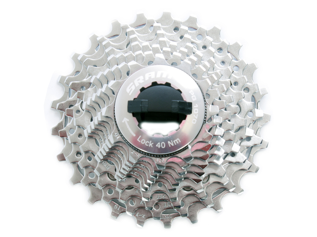 Kassette 10 gear 12-25 tands Sram PG-1070 Road