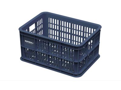 Basil Crate S - Plastkorg - Till förvaring eller pakethållare - Bluestone