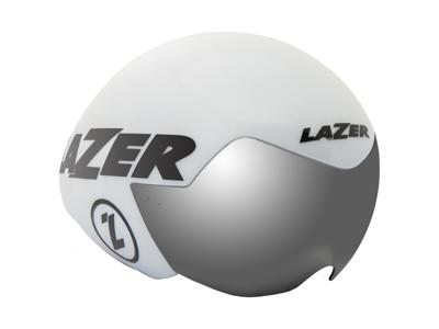 Lazer Victor - Enkeltstartshjelm - Str. 55-61 cm - Mat hvid