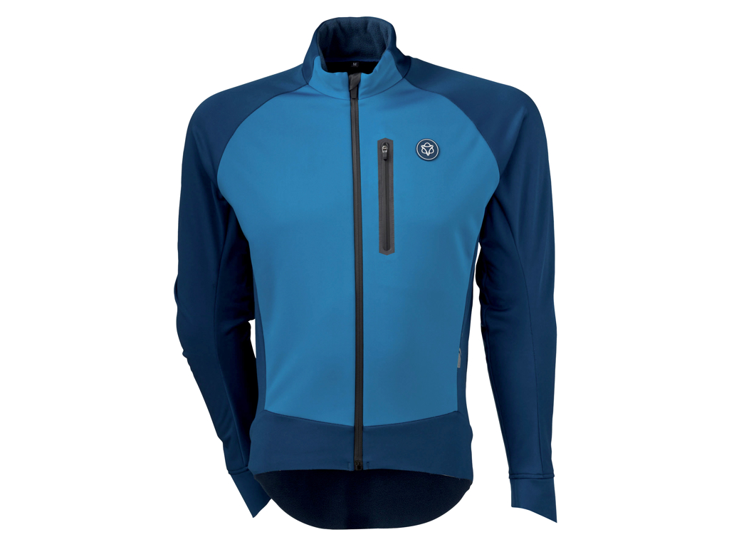 Image of   AGU JACKET PRO WINTER SOFTSHELL BLUE M