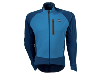 AGU JACKET PRO WINTER SOFTSHELL BLUE M