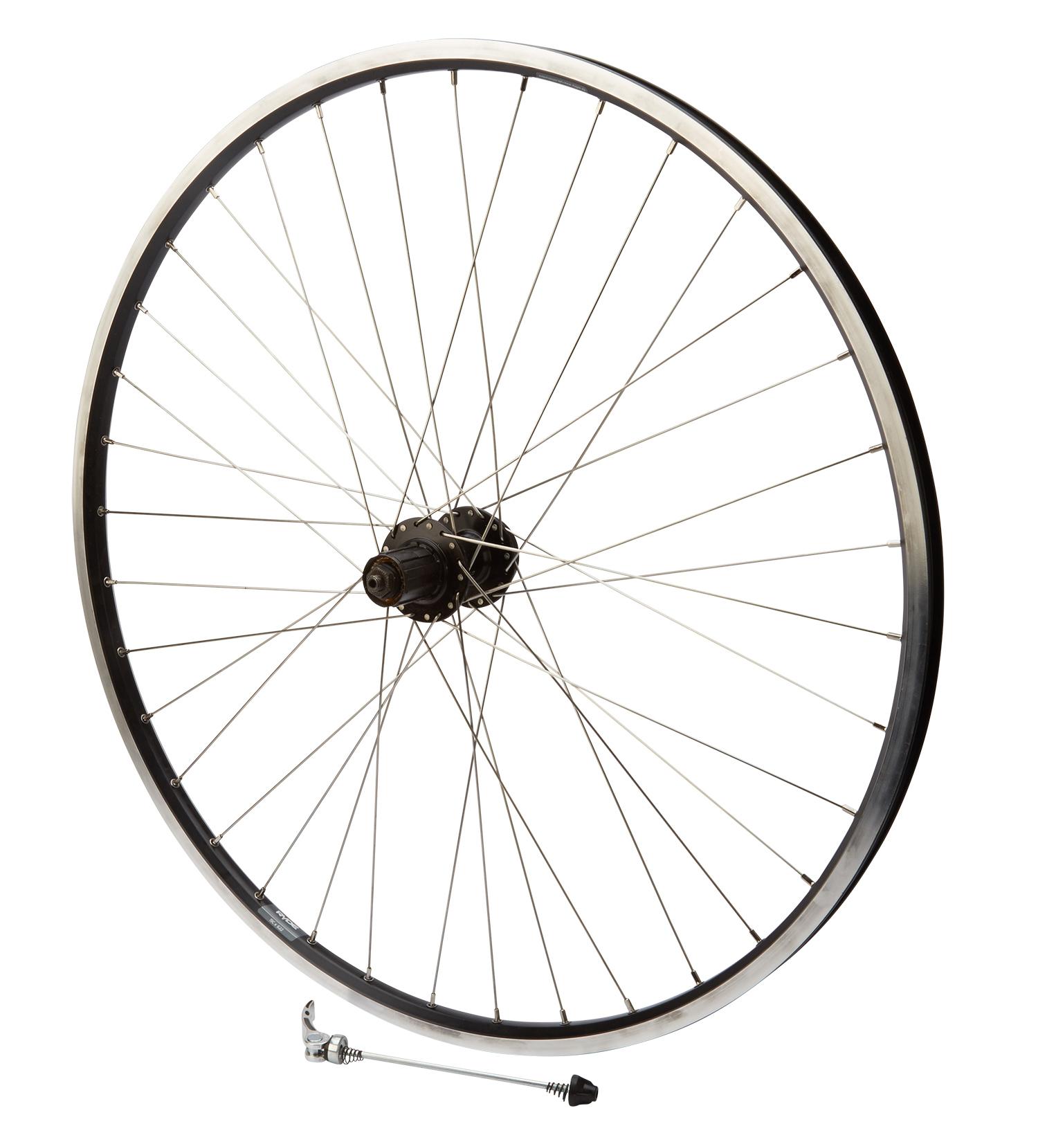 Baghjul 700c 8/10g sputnik sort   Rear wheel