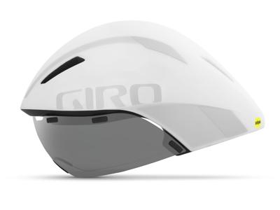 Giro Aerohead Mips - Tempoloppshjälm - Matt Vit