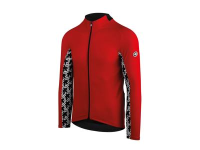 Assos Mille GT Spring Fall LS Jersey - Cykeltrøje m. lange ærmer - Rød - Str. XL
