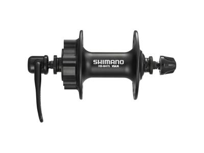 Shimano Deore - Fornav - HB-M475 - Disk til 6 bolt - Sort - 32 eger huller - 100mm bred
