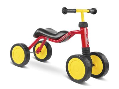 Løbecykel Puky Wutsch - fra 1,5 år/ 80 cm - Rød
