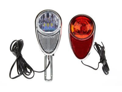 Reelight magnet lyktesett RL721 - Kraftig frontlys og blinkende baklys