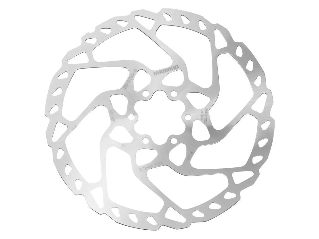 Image of   Shimano LX/Deore - Rotor for skivebremser 180mm 6 bolt