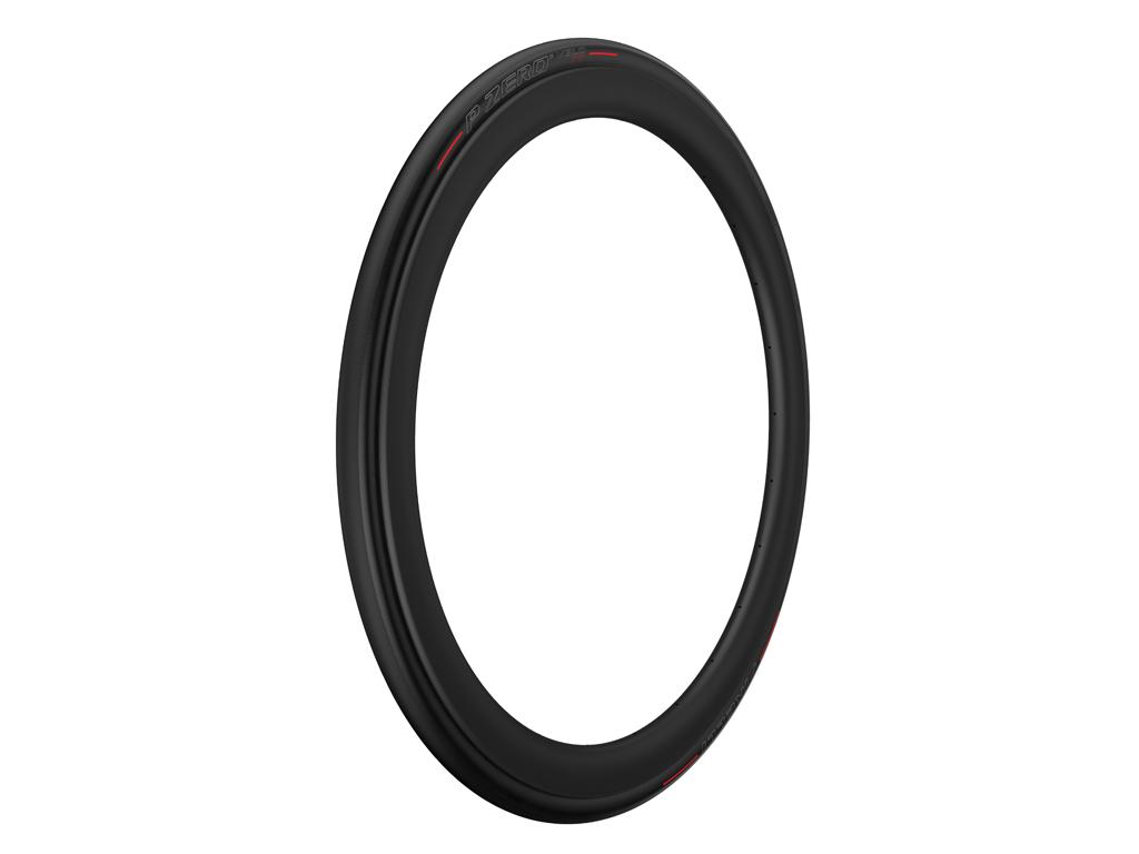 Image of   Pirelli P Zero Velo TT - Foldedæk 700x23c - Sort/rød