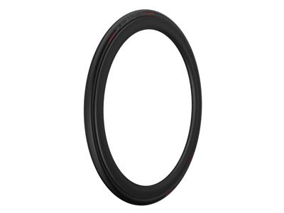 Pirelli P Zero Velo TT - Foldedæk 700x23c - Sort/rød