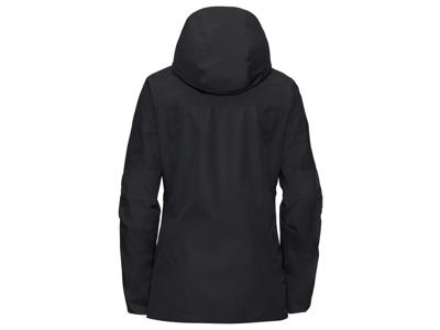 Vaude Womens Escape Pro Jacket II - Vandtæt damejakke - Sort