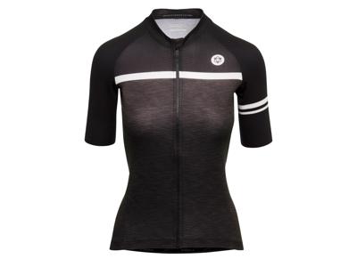 AGU Jersey SS Essential Blend - Dame cykeltrøje - Sort/Grå