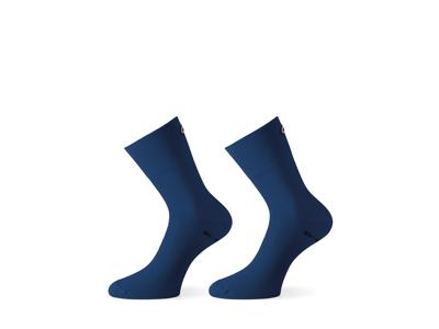Assos Mille GT Sock - Cykelstrømpe - Blå