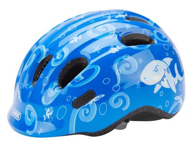 Abus Smiley 2.0 - Cykelhjelm - Blå