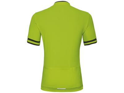 Odlo - Breeze Stand-up krage - Cykeltröja med kort ärm - Män - Neon