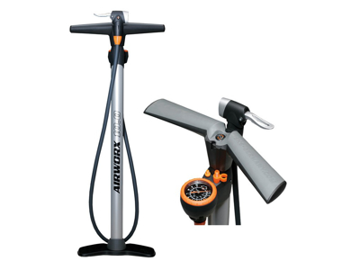 Fodpumpe SKS AirWorx 10.0 10 bar/144 PSI Sølv
