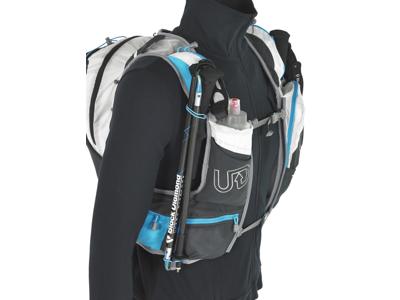 Ultimate Direction PB Adventure Vest 3.0 - Løbevest - Grå/sort/blå