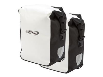 Ortlieb - Sport-Roller City - Hvid/Sort 2 x 12,5 liter