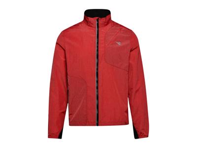 Diadora Wind Jacket - Løbejakke Herre - Rød