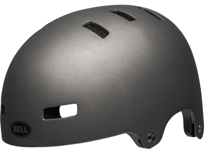 Bell Span - Bike and Skater Helmet - Food Silver