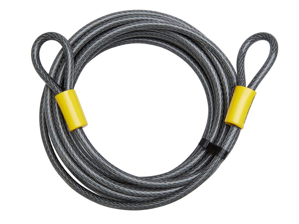 Kryptonite - Wire med løkker 9.30 meter - Til kombination med låse thumbnail