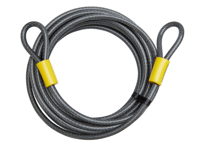 Kryptonite - Wire med løkker 9.30 meter - Til kombination med låse