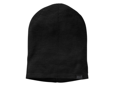 Jack Wolfskin Feel Good Beanie - Mössa - Svart - One Size