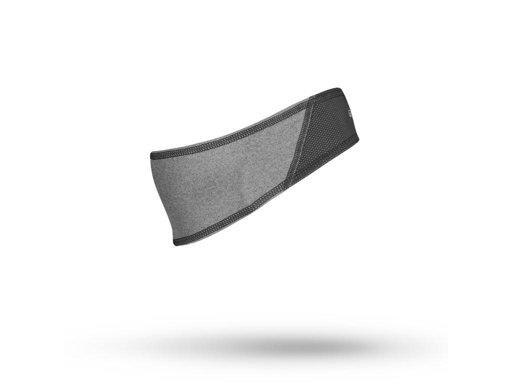 GripGrab Windproof headband - Dame cykelpandebånd - Grå - Str. M thumbnail