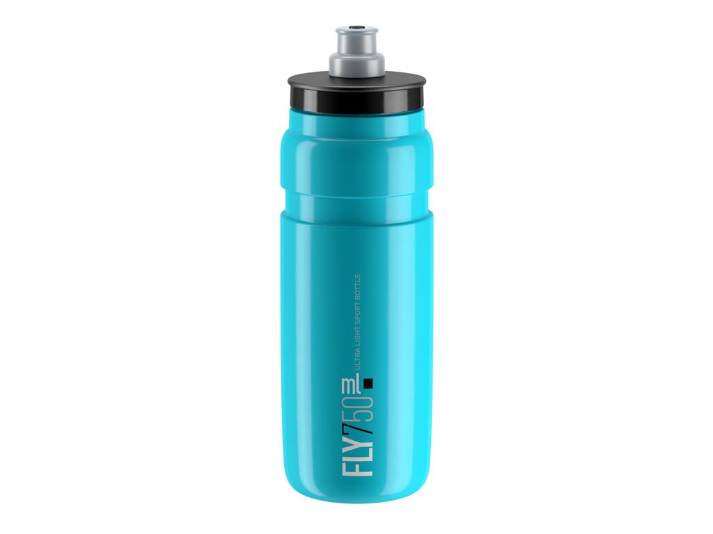 Image of   Elite Fly - Drikkedunk 750ml - 100% Biologisk nedbrydelig - Blå med sort logo