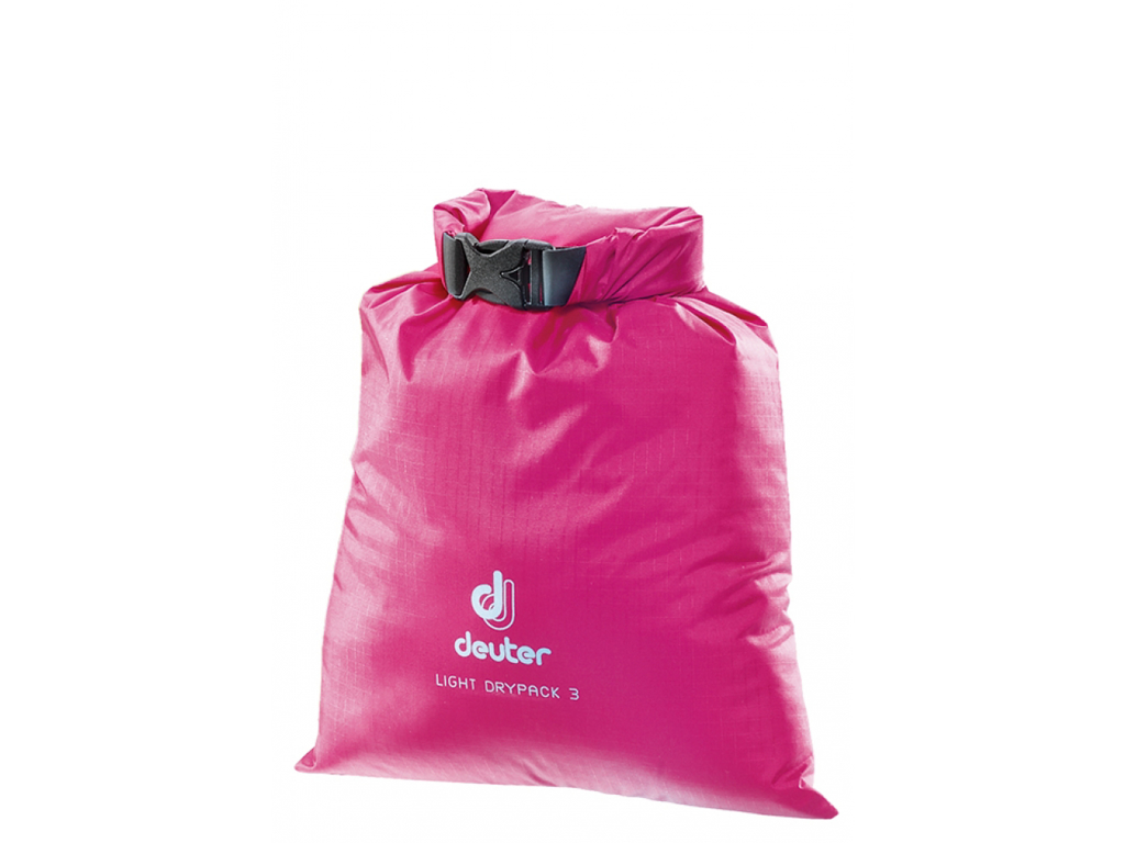Image of   Deuter Light Drypack 3 - Vandtæt drybag 3 liter - Pink