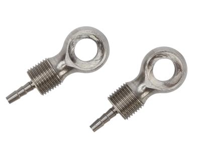 Atredo - Hydraulisk kabelforbindelse for Avid / Magura skivebrems - Rustfritt stål - 2 stk.