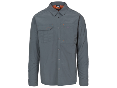 Trespass Darnet - Moskitophobia skjorte med lange ærmer - Grå