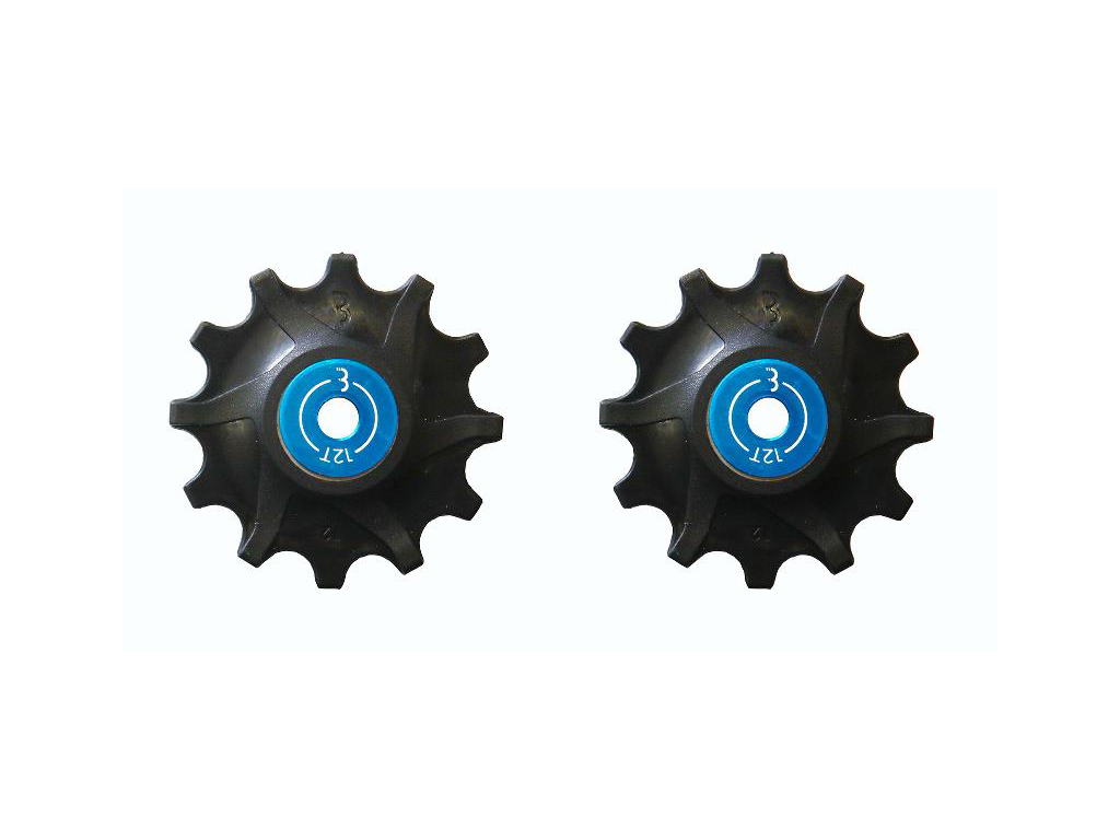 Image of   BBB - RollerBoys - BDP-06 - Pulleyhjul til Sram - 12T - Sort