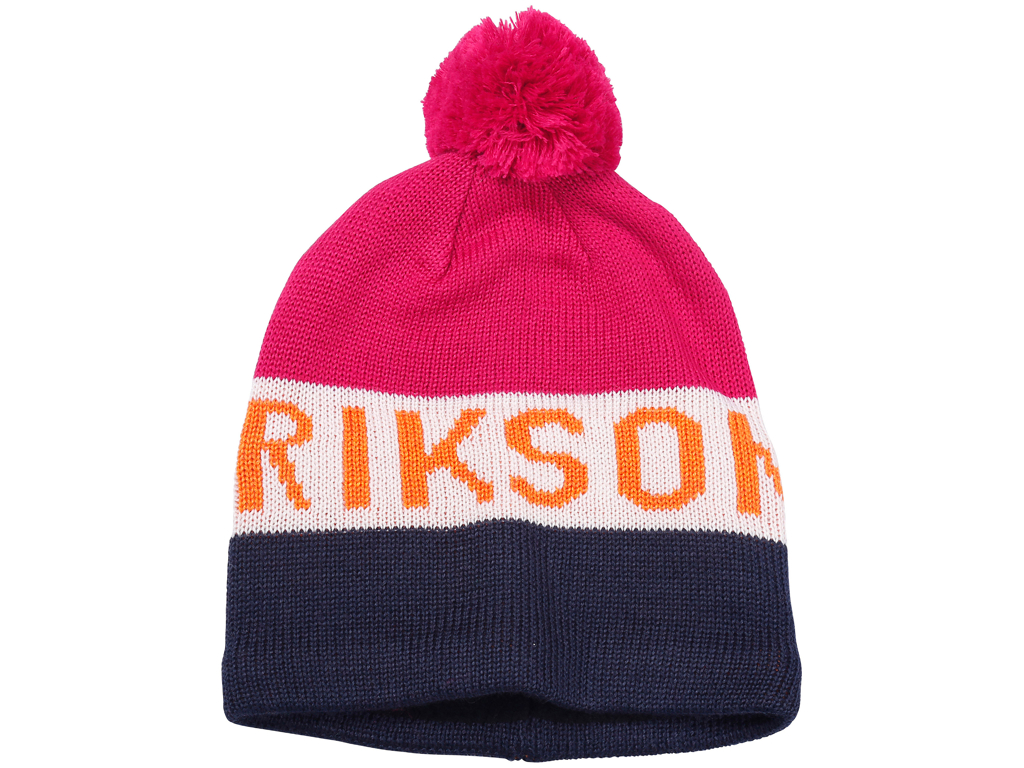 Didriksons Tomba Knitted Kids Beanie - Hue Børn - Pink - Str. 48/50 thumbnail