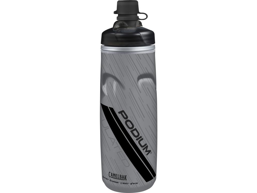 Image of   Camelbak Podium Chill MTB - Drikkeflaske 0,62 liter - 100% BPA fri - Grå/Sort