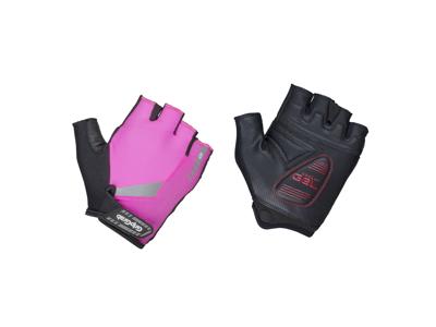 GripGrab ProGel Hi-Vis 1029 - Cykelhandske - Hi-Vis Pink