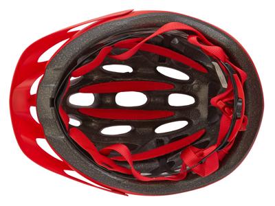 Bell Tracker - Cykelhjälm - Str. 54-61 cm - Matt Röd