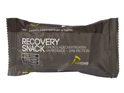 PurePower Recovery Snack - Havre med chokolade overtræk - 60 gram
