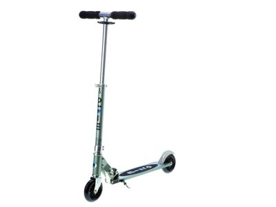 Micro Bullet - Sparkcykel till vuxna - 120 mm hjul - Aluminium - Matt Grå