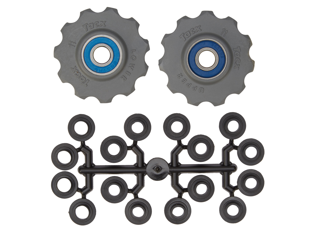 Image of   Tacx pulleyhjul med 11 tænder - Grå - Rustfrit stål