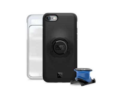 Quad Lock - Bike kit - Cover, frontcover og beslag til styr/frempind - Til iPhone 7 og 8