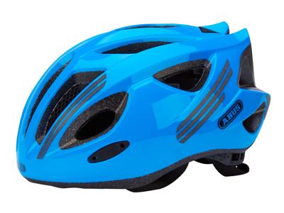 Abus S-Cension - Cykelhjelm - Neon blå - Str. 52-58cm