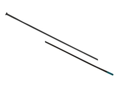 Shimano Eger - Til WH-7900 C24 282mm lange - sort