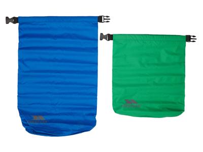 Trespass Exhilaration - Drybag set - 5 liter grön - 10 liter blå