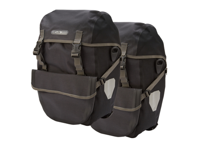 Ortlieb - Bike-Packer plus - Granit/Sort - 2 x 21 liter