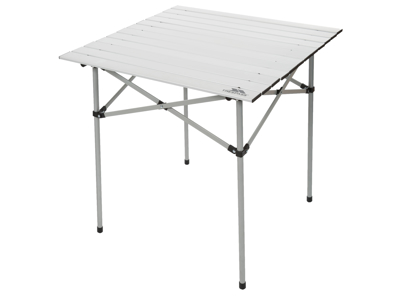 Trespass Xylo - Foldbart campingbord - 70 x 70cm - Sølv